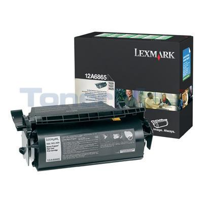 LEXMARK T620 TONER CARTRIDGE BLACK RP 30K